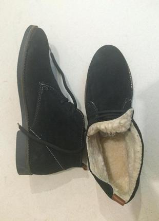 Утеплённые ботинки, зимние ботинки дезерты