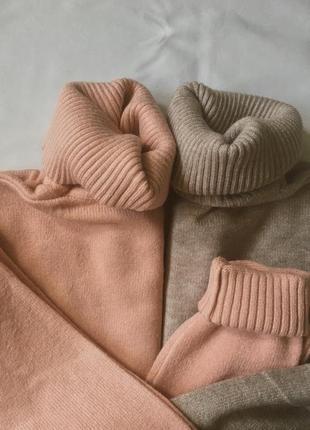 Гольф зимний, свитер, водолазка