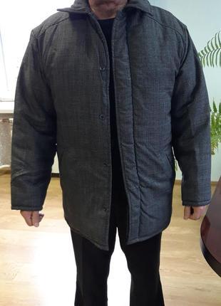 Куртка зимняя мужская рабочая ватная куртка зимова фуфайка