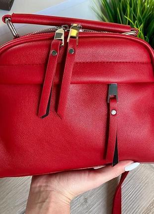 Женская сумка кросс-боди джуди (красный)