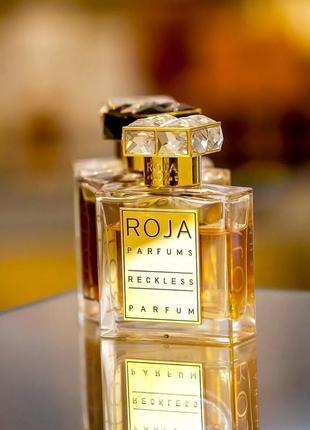 Roja parfums reckless_original_eau de parfum 3 мл затест_туал.духи