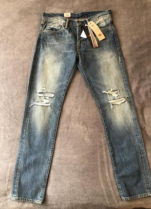 Levis premium selvedge jeans. джинсы селведж.
