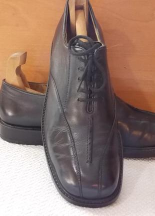 Туфли manz оригинал кожа.сделано в германии