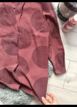 Актуальная блуза блузка в горох трендовая блуза3 фото