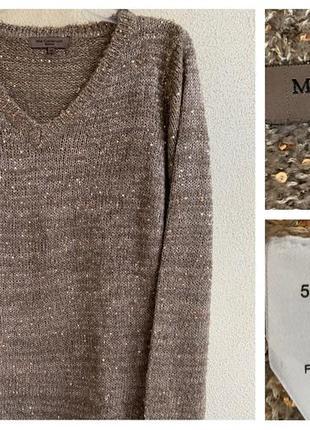 Стильный тёплый женский свитер mar collection италия