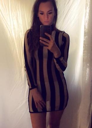 Нарядное сексуальное вечернее мини платье в золото коктейльное новогоднее