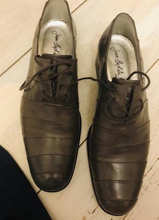 Кожаные  мужские туфли 41р. франция
