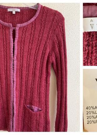 Женский стильный тёплый свитер armand ventilo италия