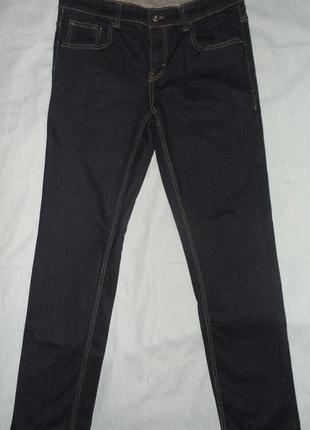 Джинсы мужские тёмно-синие размер 50-52 ( w34 l32 )
