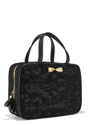 Дорожный кейс victoria's secret black lace travel case