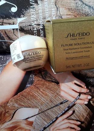 Тональный shiseido future solution lx