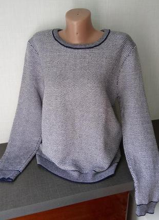 Пуловер меланжевый h&m