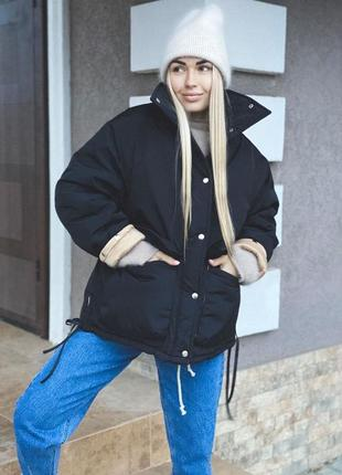 Зимняя куртка на очень теплом утеплителе slimtex