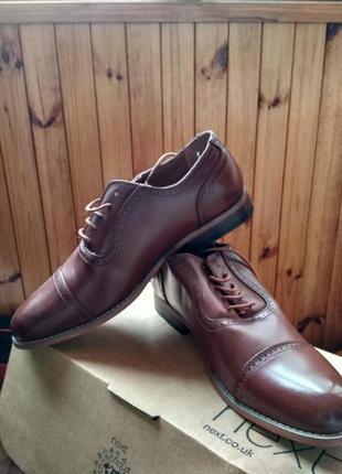 Кожаные классические мужские туфли / броги xray оригинал сша, размер us10 eur43.5 29см
