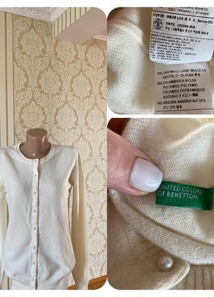 Фирменный шерстяной  кардиганчик свитер кофта джемпер