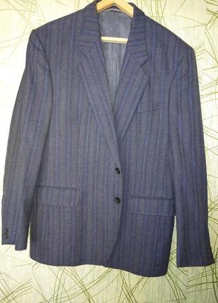 Классический мужской костюм пиджак 56р. чехия