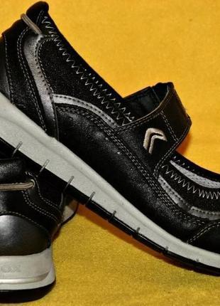 Туфли мокасины спортивные кеды кроссовки 38-39р geox 25,5 см