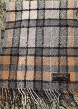 Шарф james pringle weavers 100% pure new wool