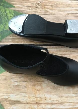 Танцевальные туфли  стелька 20,5 см capezio tele tone tap