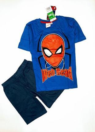 Пижама костюм мальчику disney спайдермен, размер 128