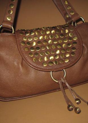 Vip! бесподобная кожаная сумка английского бренда ted baker