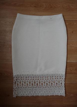 Новая фактурная юбка 10- размера . очень красивая