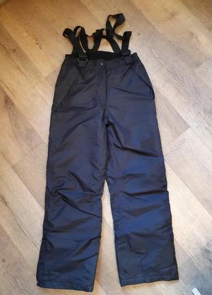 Теплые лыжные штаны фирменные