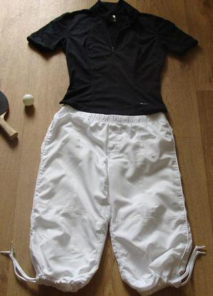 Спортивный костюм nike - летний, футболка, бриджи, шорты