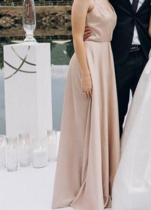 Вечірня сукня від olya mak