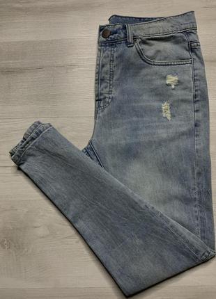 Чоловічі приталені джинси vintage amisu denim goods