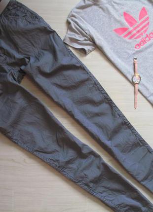 Фирменные женские летние, легкие  брюки- бойфренды. размер eur 38