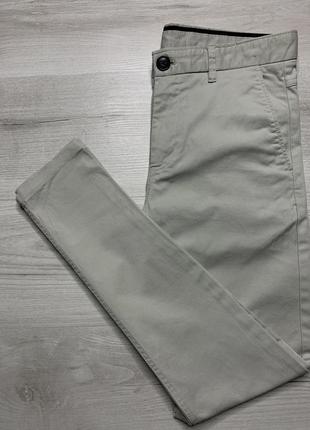 Приталені чоловічі штани zara man slim