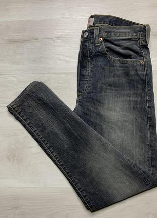 Прямі плотні джинси від levi's 501