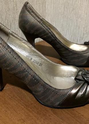 Распродажа женской обуви! туфли в тигровый принт