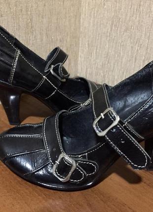 Распродажа женской обуви! красивые туфли на застёжках