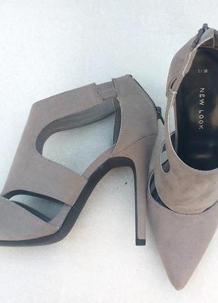 Туфли босоножки new look