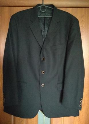 Мужской черный пиджак nordal exclusive