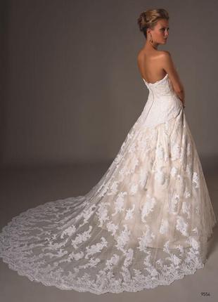 Свадебное платье от justin alexander