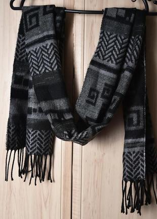 Мягкий теплій шарф