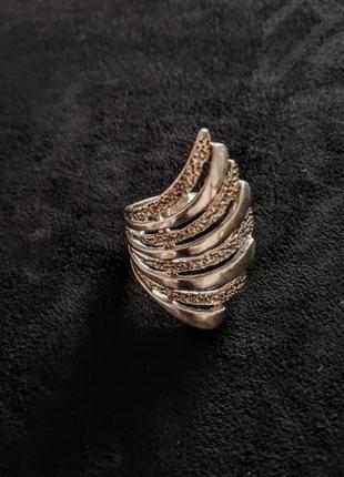 Серебряное кольцо б/у р.17 # кольцо серебряное лот 318
