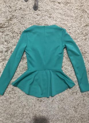 Блуза кофта баска