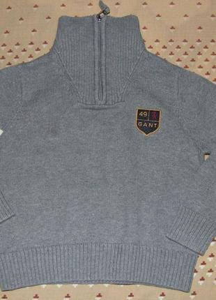 Хлопковый гольф свитер мальчику 2 года