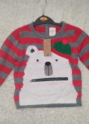 George новогодний свитер