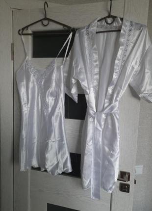 Пеньюар и сорочка