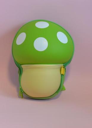 Рюкзак supercute дитячий зелений грибочок