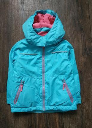 Спортивная курточка, термо куртка 3-4года, еврозима