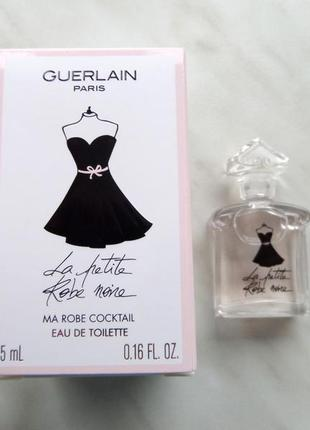 Парфюм guerlain la petite robe noir ma robe cocktail 5 мл