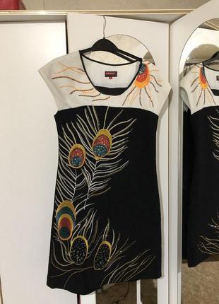 Шерстяное платье prada