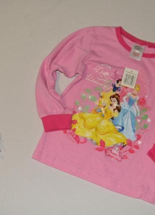 Пижамная кофта для девочки disney германия размер 98-104 см