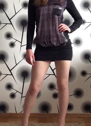 Интересное платье с заниженной талией
